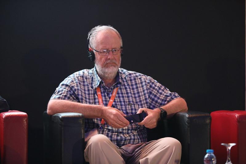 Xcalibur Group's Billy Steenkamp during a presentation.