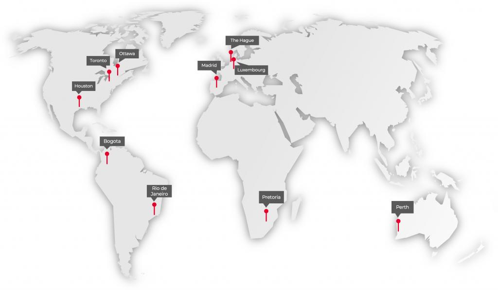 Xcalibur Multiphysics Team Office Map