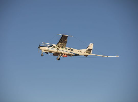 CGG Geophysical Survey Aircraft, Boulia, NW Queensland